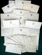 Lot 1944 Vintage 12pc Wwii Letters W/covers Anderson Queens Village, Ny Navy