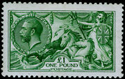 Sg403 Andpound1 Green Lh Mint. Cat Andpound2800. Waterlow. Cert