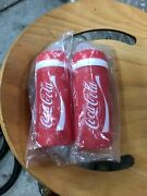 A Pair Of Elite Made In Italy Coca-cola Water Bottles 550ml
