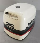 438320 Johnson Evinrude 1997-1998 Top Cowling Engine Cover Hood 25 35 Hp 3 Cyl