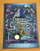 Billy Strings Streaming Austin Moody Theater Moonlight Variant Poster Print /100