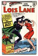 Supermanand039s Girlfriend Lois Lane 70 Comic Book 1st Silver-age Catwoman Vg