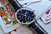 Frederique Constant Slimline Manufacture Swiss Automatic Watch Power Reserve