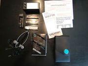 Vintage Sony Walkman Wm-f100 Am/fm Stereo Cassette Player With Case Nice