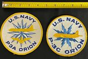 U.s. Navy P3a Orion And P-3c Orion Patch Patches