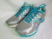 Brooks Adrenaline Gts 16 Women's Size Us 10 Extra Wide Running Shoes Teal Gray