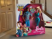Barbie Toy Story 3 Barbie And Ken Made For Each Other Rare Dolls Set Mattel New