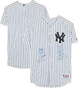 2009 New York Yankees Signed White Authentic Jersey And Matsui 09 Ws Mvp Insc