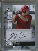 2011 Itg Heroes And Prospects Draft Year Silver /39 Mike Trout Rookie Auto