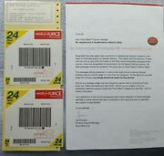 Great Britain 2003 Royal Mail / Post Office / Parcel Force Aqa Test Papers Pack