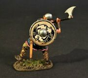 Vik-14a Viking Warrior Charging With Axe - John Jenkins Designs Toy Soldiers