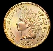 1870 Indian Head Cent Penny -- Make Us An Offer K5039