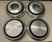 Dodge Truck 4x4 Set Of Dog Dish Hub Caps 4wd Power Wagon Late 70and039s Early 80and039s 81