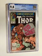 Thor 411 Cgc 9.8 White Pages 1st Appearance Of The New Warriors