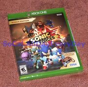 Sonic Forces Bonus Edition With Controller Skin And Exclusive Dlc Xbox 1 One