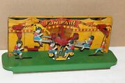 Nice Vintage 1920's Tin Wolverine Sunny Andy Fun Fair Articulated Toy
