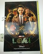 Loki Double Sided Ds 27 X 40 Poster 2021 Tom Hiddleston Miss Minutes