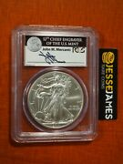 2011 S Silver Eagle Pcgs Ms69 Mercanti First Strike From 25th Anniversary Set