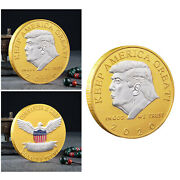 40mm Novelty American 45th President Donald Trump Coin Challenge Coins Gift