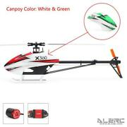 Alzrc 360mm Main Rotor Devilx360 Fbl Rc 3d Fancy Helicopter 1800kv Motor 60a Esc