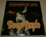 Deep Purple Live In Stockholm 1970 1st Press 2014 3 Lps Records Europe Import