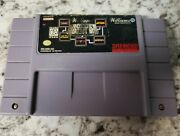 Williams Arcadeand039s Greatest Hits Super Nintendo Entertainment System Cart Only