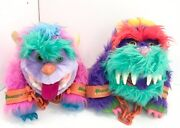 """1985 My Pet Monster Collection Of """"mogster And Rark Two With Handcuffs"""