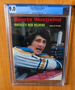 Sports Illustrated 1973 Perreault Fc Newsstand Cgc 9.0 None Higher Pop 1