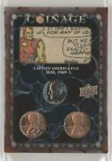2020 Marvel Ages Comic Clippings Coinage 9/12 Captain America 113 Ca-113 0he