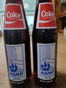 Rare Special Edition Coke Bottles 1986 In Celebration Of Albanyny Tricentennial