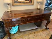 Chickering Square Grand Piano Rosewood Carved