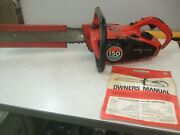 Vintage Homelite 150 Automatic Chainsaw W/16 Inch Bar And Chain-used