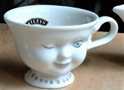Baileys Wink Face Mug Cup Signed Helen Hunt For Los Angeles Youth Network 4 D