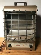 Rare Antique 197-tn Fan-glo Heetaire Automatic Electric Space Heater