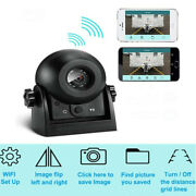 Wifi Wireless Car Rear View Cam Backup Reversing Camera For Android Ios Iphone