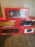 Bachmann Big Haulers Denver And Rio Grande U.s Mail Lot Used In Great Condition