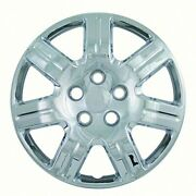 Aftermarket Wheel Covers 16 Inch Chrome Finish Abs 7 Spoke