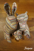 Muji Store Re-used Yarn Rabbit Cat Cotton Recycled Soft Toys
