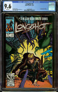 Longshot 3 1st Print Cgc 9.6 White Pages - 1st Appearance Of Mojo