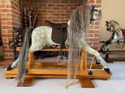 And039marbleand039 Tridias Rocking Horse - Free Delivery
