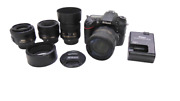 Nikon D7100 Dslr + 4 Lenses, Accessories, And Carrying Case Make Offer Free Ship