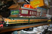 Williams O Gauge F-7 Aba 318a Powered 316a And 317b Unpowered Nib Great Northern