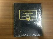 Whitman Classic Coin Album 4898 For American Silver Eagles From 2021-on
