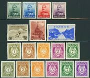 Norway Postage Stamp Collection Europe 1937-1941 Norge Mint Nh