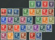 Norway Postage Stamp Collection Europe 1826-1949 Norge Mint Lh Nh