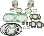 Wsm Top End Kit 588cc - 0.50mm Oversize To 76.50mm Bore 010-815-12