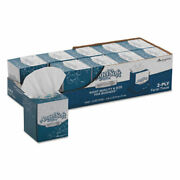Angel Soft Ps Ultra Facial Tissue 2-ply White 7 3/5 X 8 1/2 96/box 10 Boxes/cart
