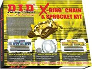D.i.d. X-ring Chain And Sprocket Kit Front 17t Rear 47t 530zvmx Dky-010g