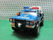 Vintage Toy - Datsun Sheriff Los Angeles County - Battery Operated, 12 5/8in