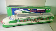 Vintage Tin Bullet Train Ichiko Friction Toy Japan, 1970's Excellent Condition